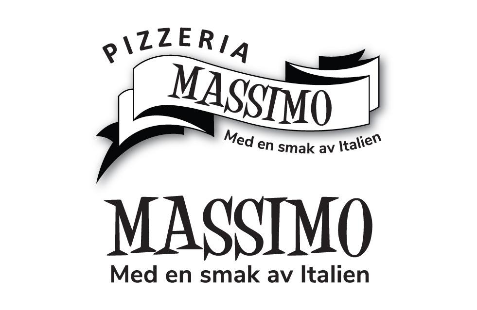 Logodesign till Massimo