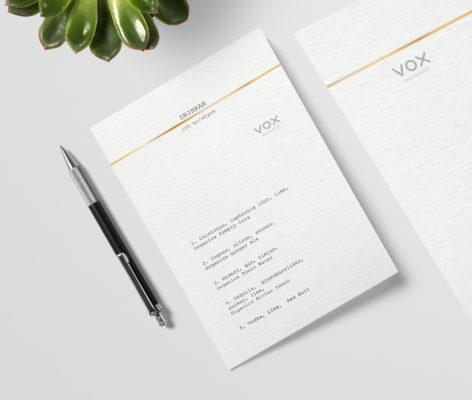 vox hotel branding