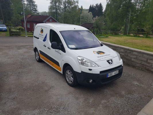 Stripa bilar i Stockholm
