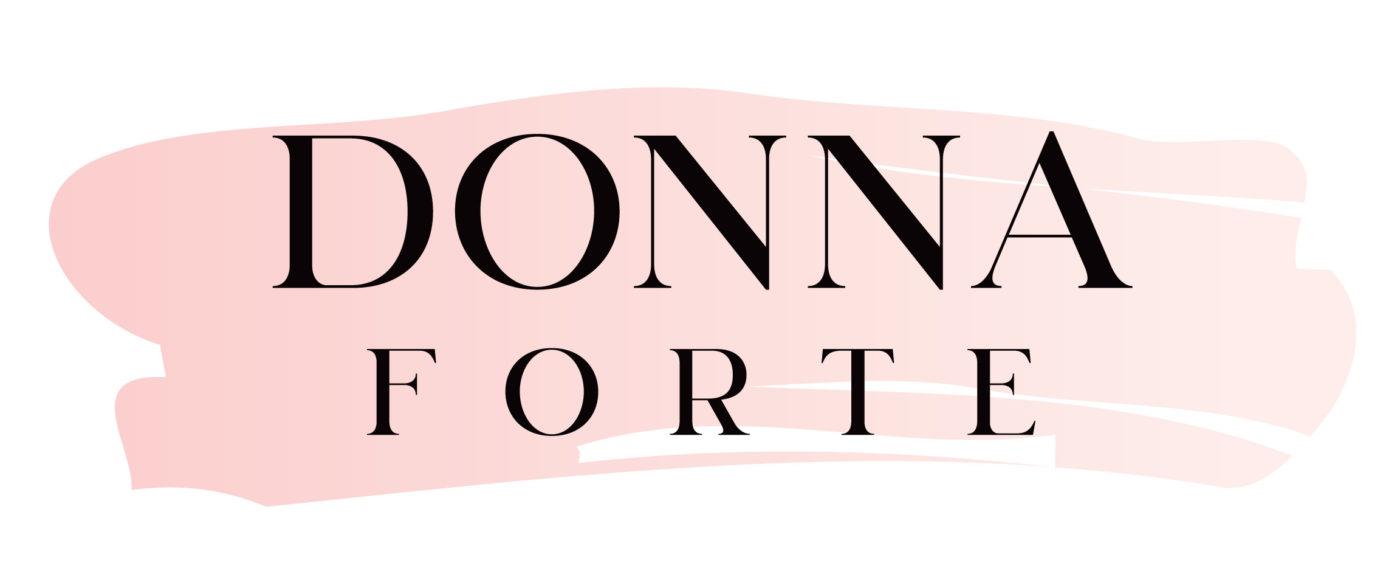 Donna forte logotyp design