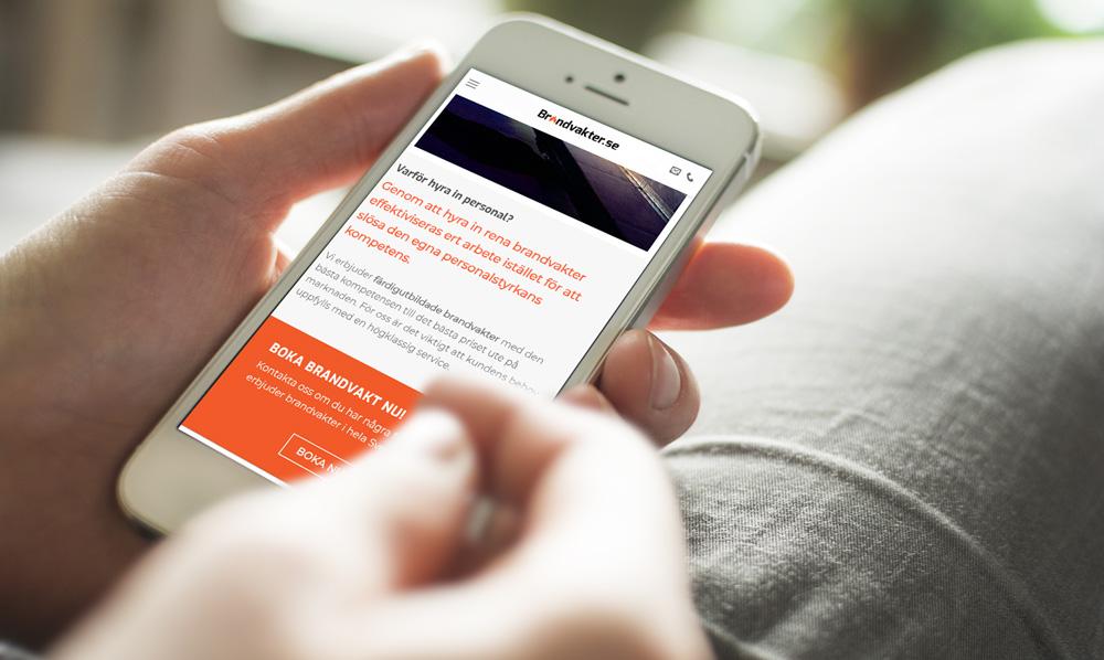 responsiv hemsida mobilanpassad i wordpress