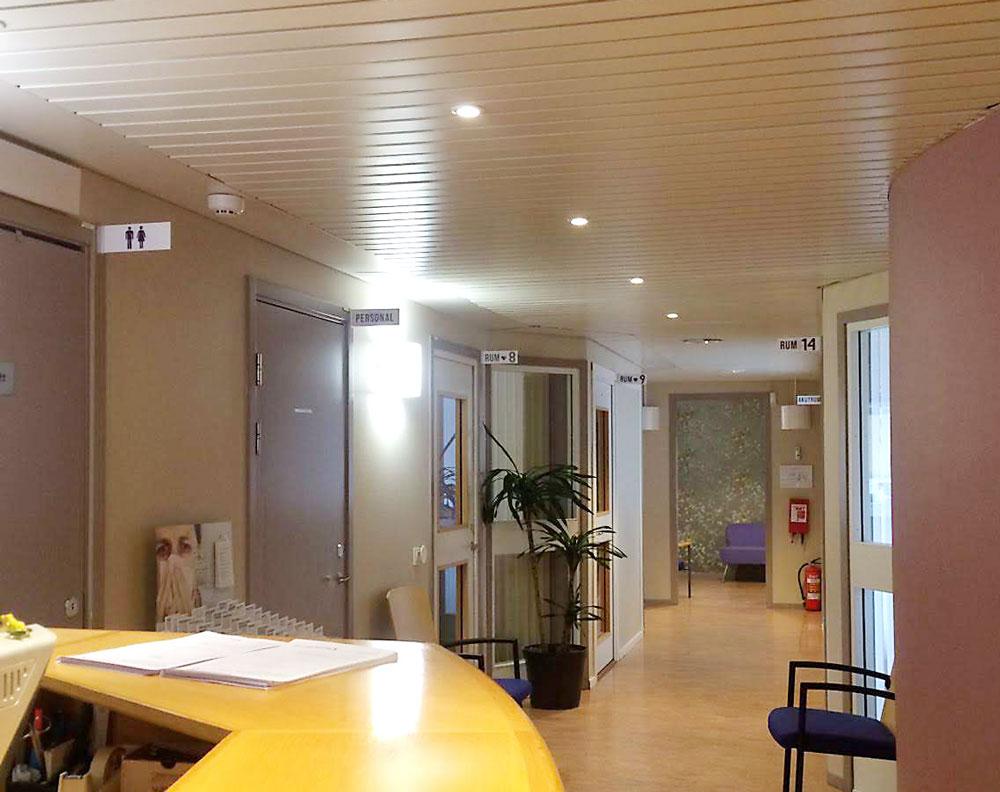 Skyltar solna centrum vårdcentral