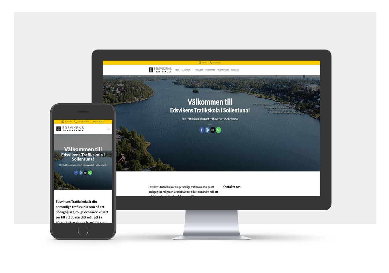 webbprojekt hemsida WordPress webbdesign stockholm